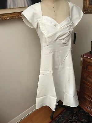 663a6c8394e Stop Staring Plus Size Dress MADSTYLE Ivory Short Sleeve NEW NWT size 24W