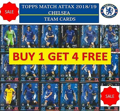 Topps Match Attax 2018 2019 18 19 Choose your CHELSEA  team cards