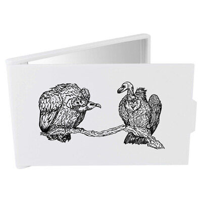 'Pair Of Vultures' Compact / Travel / Pocket Makeup Mirror (CM00008572)