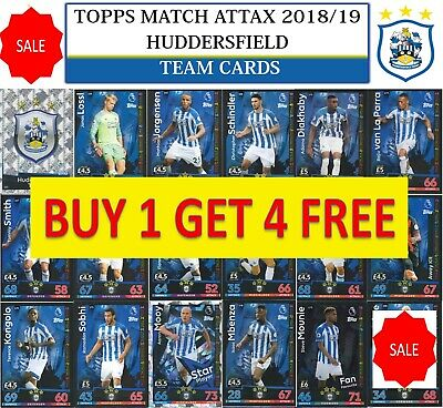 Topps Match Attax 2018 2019 18 19 Choose your HUDDERSFIELD team cards