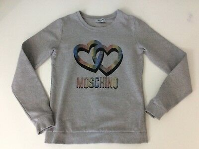 Moschino Grey Jumper Age 14 Years Size 164cm