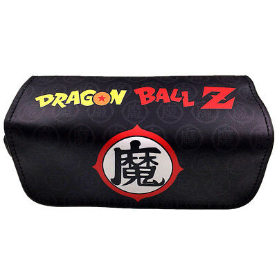 Anime Dragon Ball Z Women cartoon Pencil Case Stationery Cosmetic Makeup Bag