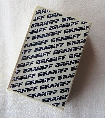 Braniff Airlines Playing Cards New Sealed
