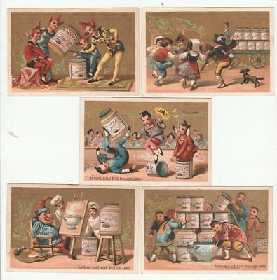 10 Early Victorian Era Liebig Extract Of Meat Trade Cards