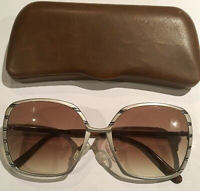 HELENA RUBINSTEIN VINTAGE SUNGLASSES IN USED LOVED CONDITION wi NEW LENSES!!