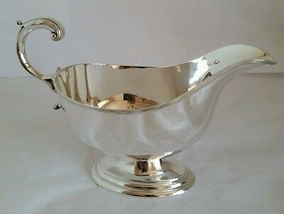 "A ""Georgian style "" Sterling silver Sauce Boat Sheffield 1965.By James Dixon Ltd"