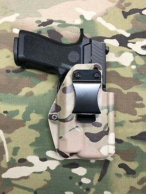 Crye Multicam Kydex IWB Holster for Sig P320 Compact RX Optic Cut Inforce APLc