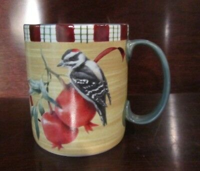 Lenox Winter Greetings Everyday Mug - Downy Woodpecker
