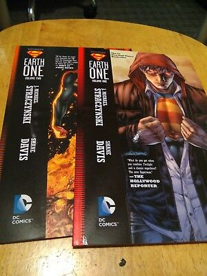 Superman: Earth One TP Volume 1 and 2 by J. Michael Straczynski (Paperback)