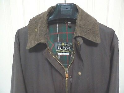 Barbour - A400 Northumbria Waxed Cotton Jacket-Vintage Rare-Made@uk-40