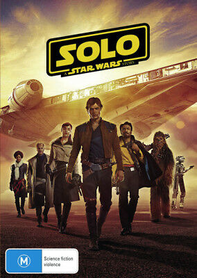 Solo: A Star Wars Story - DVD (NEW & SEALED)