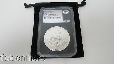 2017 STAR WARS CLASSIC NIUE C-3PO $2 SILVER 1oz PF 69 ULTRA CAMEO NGC GRADED