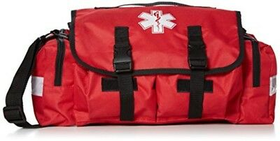 First Responder Paramedic Trauma Emergency Medical KIT FULLY STOCKED Bag RED New