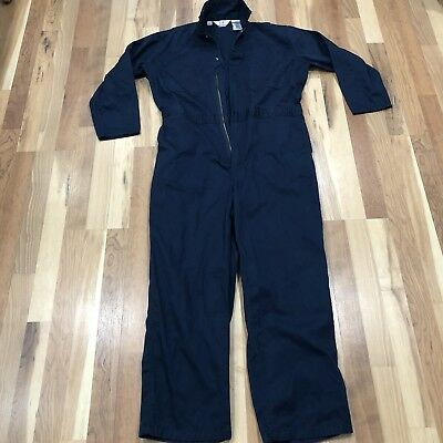-MINT- Mens Large Regular  Walls Master Made Mechanic Overalls Work Coverall