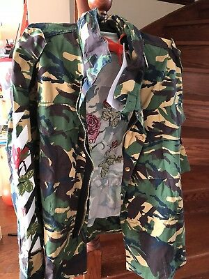 NWT RED VALENTINO Falcon Embroidered Green Jacket 2bda96b147