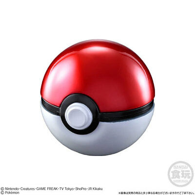 Pokemon Ball Collection SUPER Poke Monster Ball Candy Dispenser Pokeball Bandai