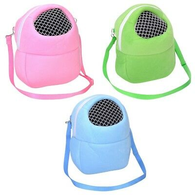Small Animals Carrier Hamster Chinchilla Travel Warm Bag Guinea Pig Carry Pouch