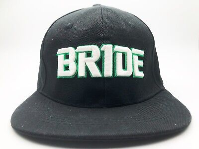 Jdm Ukdm Bride Black Summer Racing Baseball Cap Hat Gift Drift