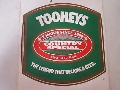 Tooheys Country Special Lager Sticker 30cm x 30cm