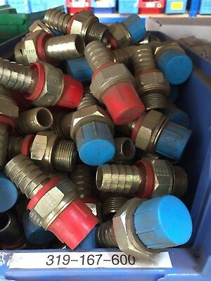 """Hose Tail Hydraulic Fitting 3/4"""" Bspp Male X 3/4"""" Lmp1212"""