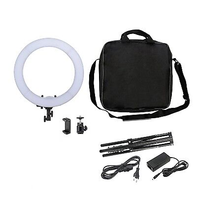 "NEW 12""36W 180PCS LED SMD Ring Light 5500K Dimmable Ring Video Light Kit US!!"
