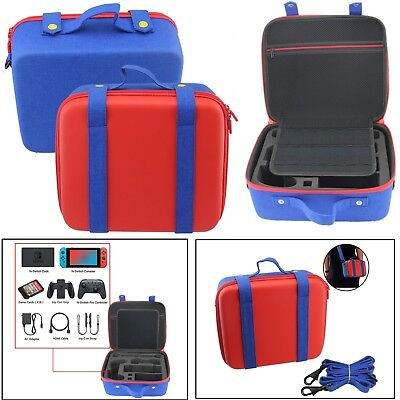 Mario Shockproof Carry Storage Case Bag Protector For Nintendo Switch Console