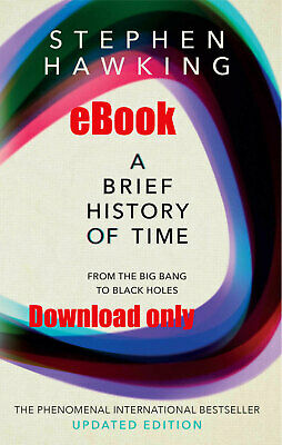A Brief History Of Time By Stephen Hawking- Updated Edition