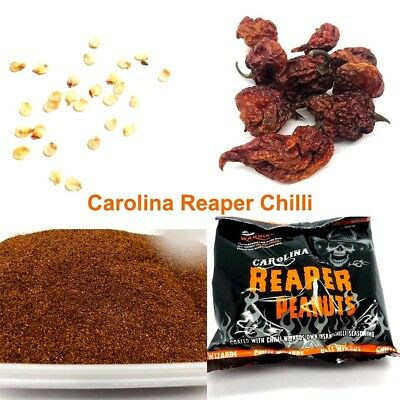 INSANE Carolina Reaper World Records Hottest Chili Pepper World Pork Peanuts