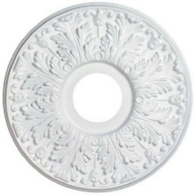 Ceiling Medallion Durable Molded Victorian Style Home Decorative Room Accent