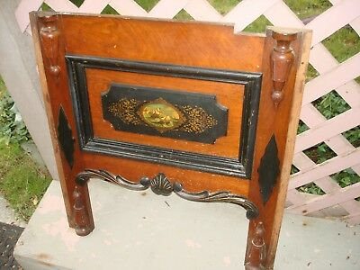 Antique  Furniture  Salvage Wood (BEAUTIFUL ! SHIPS- FIGHTING THE SEAS) 1800`S-?