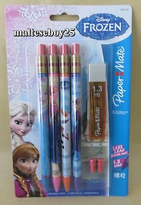 2 X Disney Frozen Papermate Mates  New & Sealed