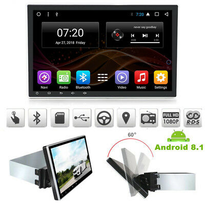 "Android 8.1 1080P 1DIN 10.1"" Auto Stereo Radio GPS Wifi 8Core A9 RAM:2G ROM:32G"
