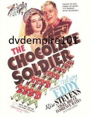 The Chocolate Soldier DVD Nelson Eddy New Sealed Australian Release