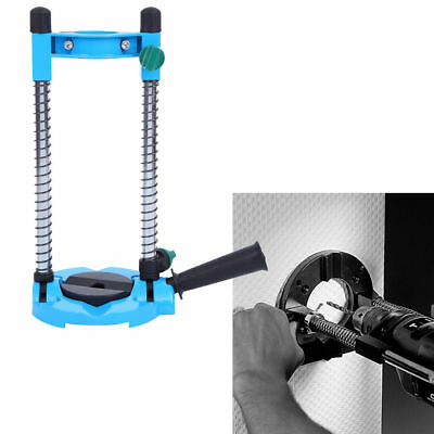Electric Drill Holder Guide Stand 45 Angle Adjustable ∅ 42mm Mobile Swivel Tool