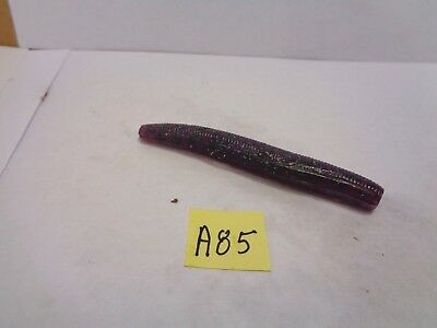 """New Other White Bulk 4/"""" Paddle Tail Worms 20 Count"""