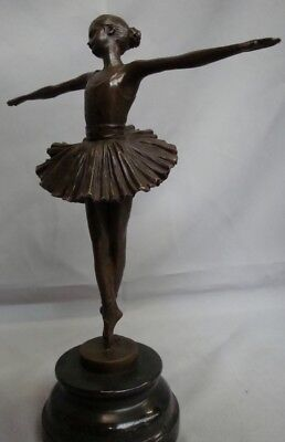Statue Sculpture Dancer Opera Art Deco Style Art Nouveau Style Solid bronze Sign