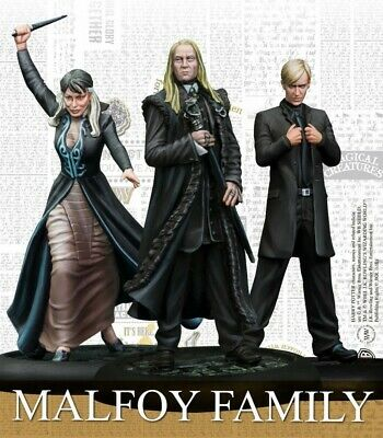 Malfoy Family - Harry Potter Miniatures Adventure Game Knight Models Brand New