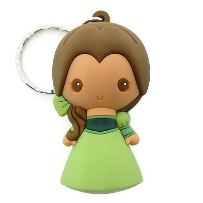 Disney 3D Figural Keyring Series 14 BELLE KEYCHAIN Blind Bag Beauty & The Beast