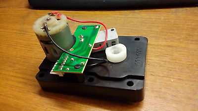 12V geared motor 7 rpm superleague pool table replacement.model maker parts  etc