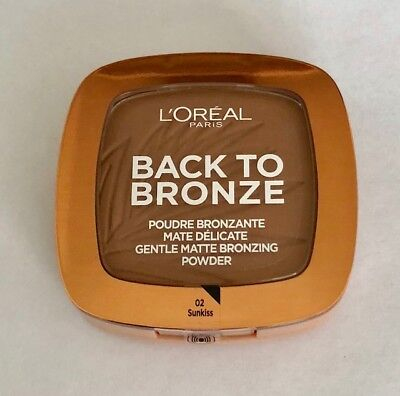 L'oreal Back To Bronze 02 Sunkiss - Terra Effetto Mat