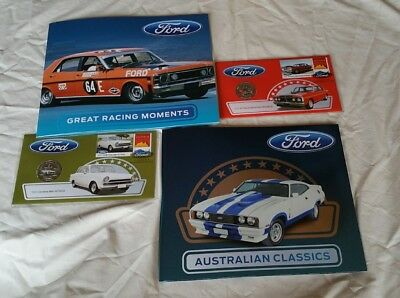 2017 Australia Ford Classic stamp Collection & 50c  PNC coins & stamps last one