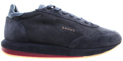 GHOUD Venice Chaussures Hommes Sneakers Ghoud 02 Man Low Suede Leather Navy  ITA c83297a732d