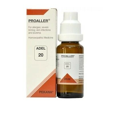 ADEL 20 Homoeopathic Proaller Drop For Allergies, Severe Itching, Skin 20ml