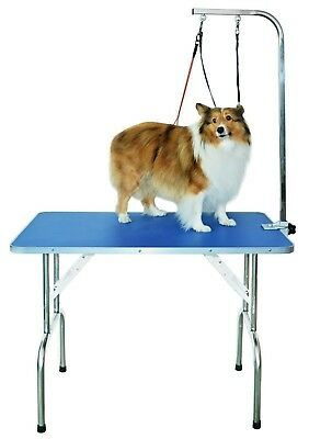 Professional grooming table with double leashes and clamp for small/medium dogs