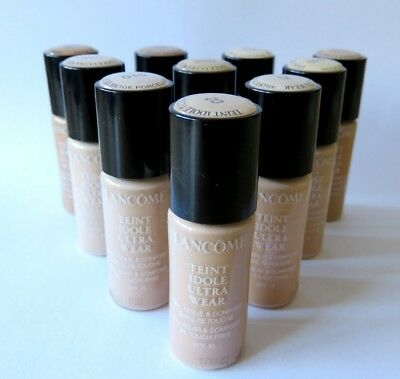 Lancome Teint Idole Ultra Wear 24Hr Foundation 10Ml Great Range £6.99 Free Post