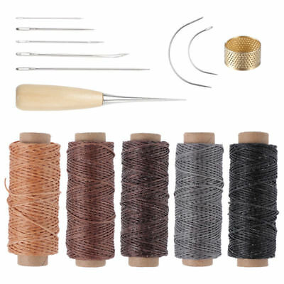 14 pcs Leder Werkzeug Stitching Craft Hand Sewing Stitching Groover DIY Kit Sets