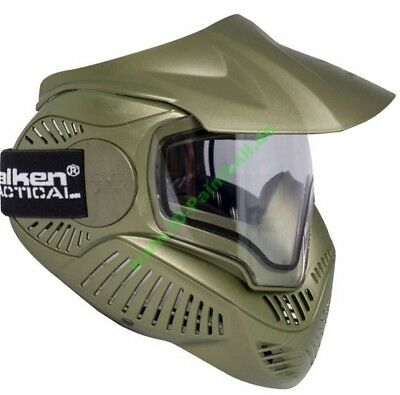 Paintball Maske Sly Annex MI-7 thermal Oliv
