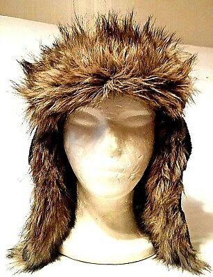 d98267da5 MENS TRAPPER STYLE Winter Hat Adult One Size Made By American Eagle  Outfitters