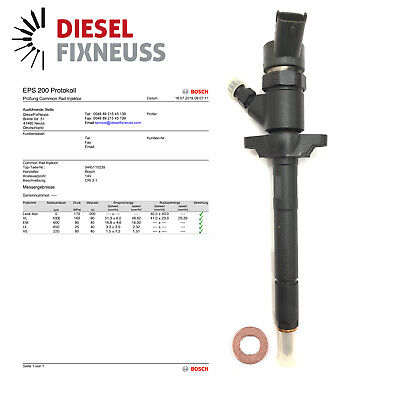 Citroen Peugeot Ford 1.6 Hdi Recondition Bosch Diesel Fuel Injectors 0445110239