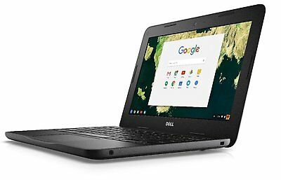"Dell Chromebook 11 CB1C13 11.6"" Laptop Intel Celeron 2955 1.40GHz 4GB 16GB (R-D)"